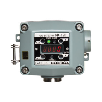 Diffusion type gas detectors